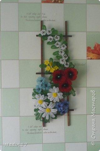 """панно """"Полевые цветы"""" фото 2"""