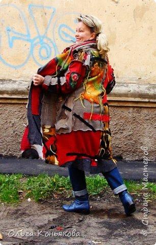 """пальто """" НА ОДНОМ ДЫХАНИИ"""".... фото 2"""