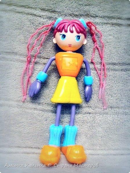 Я решила провести эксперимент с этой куклой...Вот была: фото 1