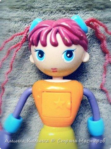 Я решила провести эксперимент с этой куклой...Вот была: фото 2