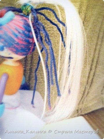 Я решила провести эксперимент с этой куклой...Вот была: фото 4