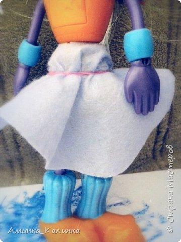 Я решила провести эксперимент с этой куклой...Вот была: фото 5