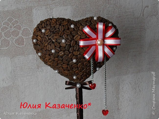 "Топиарий "" Кофе с молоком"". фото 4"