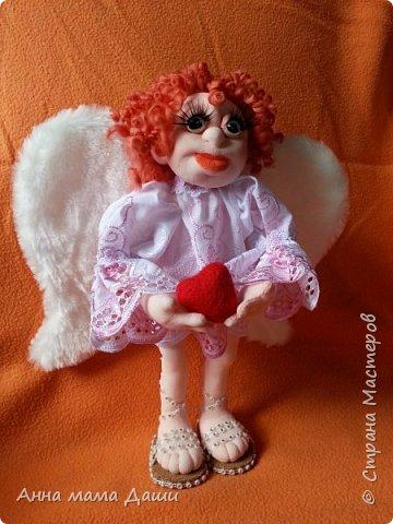Привет! Это мой первый ангел, рождался нууу ооооочень долго... Выставляю, жду комментариев фото 2