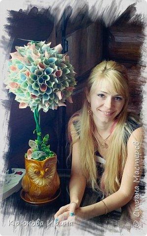Персиковое деревце на день рождения подруге))  фото 4