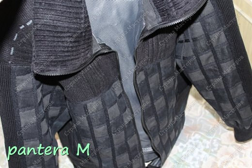 Гардероб Мастер-класс Праздник осени Шитьё куртка из джинсов фото 1