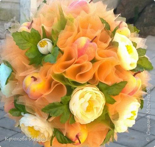 Персиковое деревце на день рождения подруге))  фото 3