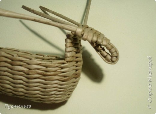 Мастер-класс Поделка изделие Плетение Барашек Бумага Трубочки бумажные фото 12