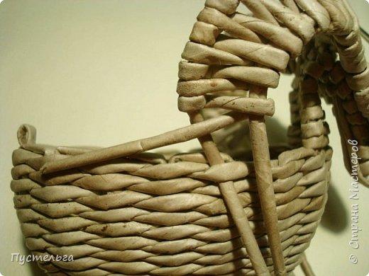 Мастер-класс Поделка изделие Плетение Барашек Бумага Трубочки бумажные фото 17