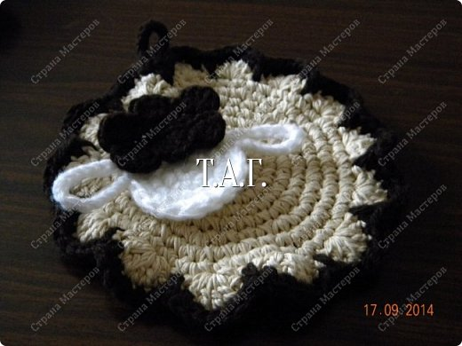 Мастер-класс Поделка изделие Новый год Вязание Вязание крючком Облачко на ножках бегает по дорожке  Бусины Клей Нитки Пряжа фото 18