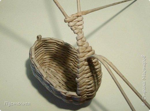 Мастер-класс Поделка изделие Плетение Барашек Бумага Трубочки бумажные фото 7