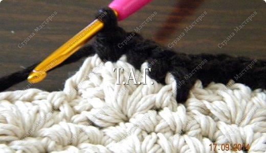 Мастер-класс Поделка изделие Новый год Вязание Вязание крючком Облачко на ножках бегает по дорожке  Бусины Клей Нитки Пряжа фото 10