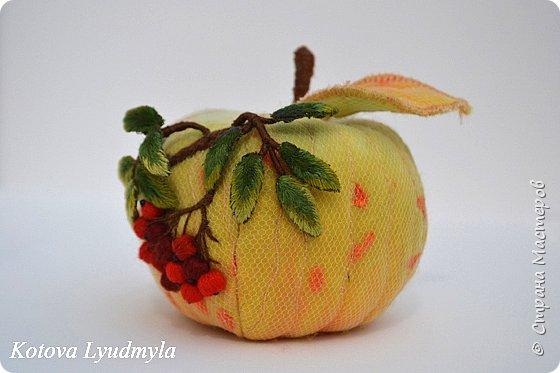 Мастер-класс Поделка изделие Вышивка Шитьё Текстильные фрукты Как легко сделать выкройку Бисер Нитки Проволока Ткань Шерсть фото 3