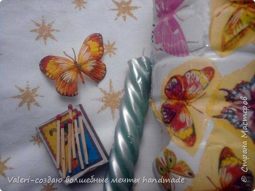 Мастер-класс Поделка изделие Декупаж Декупажные объёмные бабочки Бутылки пластиковые Краска Салфетки фото 7