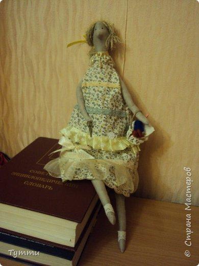 Тильда в платье фото 2