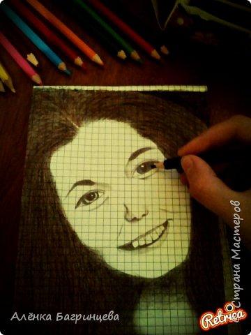Решила нарисовать подругу:) фото 4