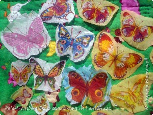 Мастер-класс Поделка изделие Декупаж Декупажные объёмные бабочки Бутылки пластиковые Краска Салфетки фото 4