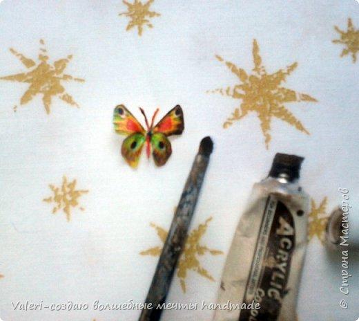 Мастер-класс Поделка изделие Декупаж Декупажные объёмные бабочки Бутылки пластиковые Краска Салфетки фото 6