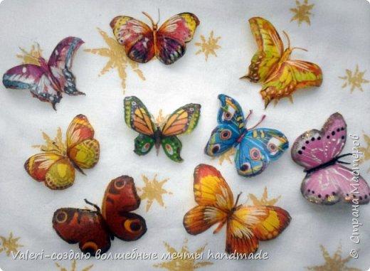 Мастер-класс Поделка изделие Декупаж Декупажные объёмные бабочки Бутылки пластиковые Краска Салфетки фото 13