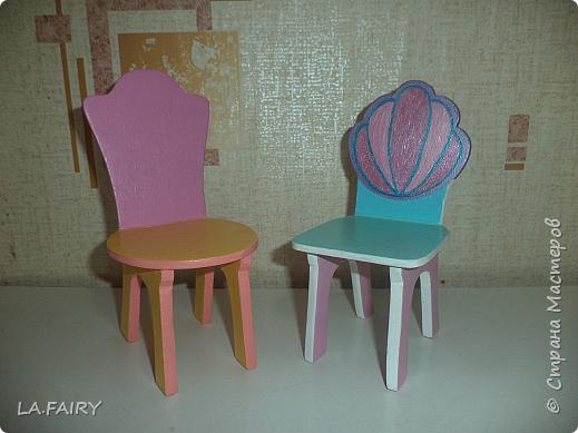 Столы и стулья для кукол своими руками 31