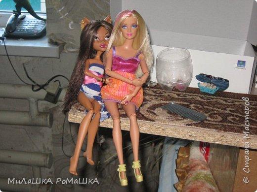 Я-Привет Все у меня новенькая БАрби Модная штучка с питомцем и специально для Админов У Клодин новый наряд И новое жилье у них обоих! фото 1