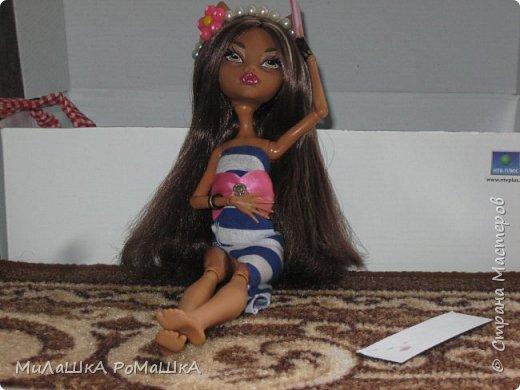 Я-Привет Все у меня новенькая БАрби Модная штучка с питомцем и специально для Админов У Клодин новый наряд И новое жилье у них обоих! фото 4