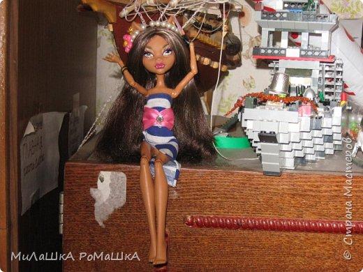 Я-Привет Все у меня новенькая БАрби Модная штучка с питомцем и специально для Админов У Клодин новый наряд И новое жилье у них обоих! фото 7