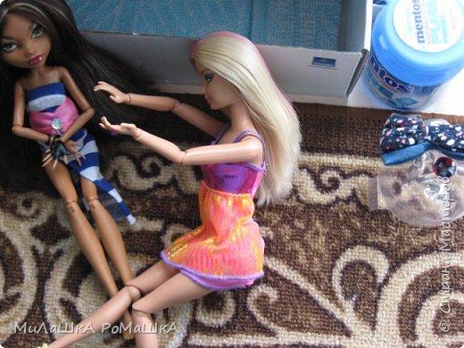 Я-Привет Все у меня новенькая БАрби Модная штучка с питомцем и специально для Админов У Клодин новый наряд И новое жилье у них обоих! фото 5