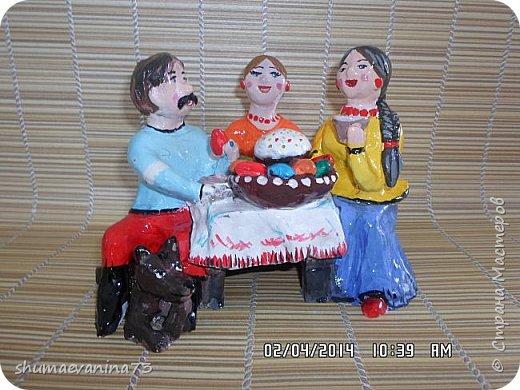 """""""индюк""""Дымковская игрушка. фото 5"""