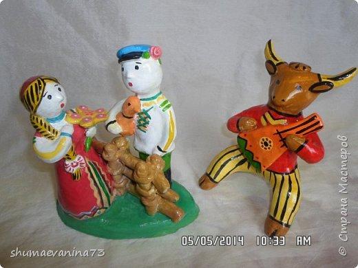 """""""индюк""""Дымковская игрушка. фото 20"""