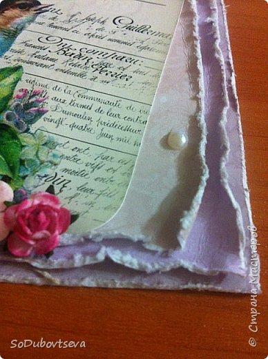 моя первая открытка в стиле шебби шик))очень жду ваших коментариев фото 19