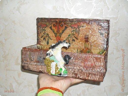 Здравствуйте! представляю вашему вниманию еще поделочки, хвастаюсь так сказать Коробка из под... для...  фото 6