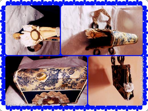 Ткань- остаток подола от моей юбки, с которой и будет теперь в комплекте моя сумочка. фото 8