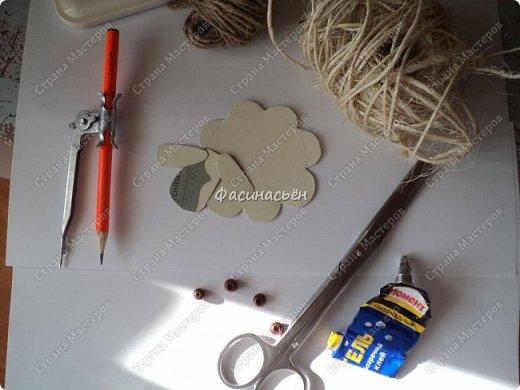 Надоело мне шить и решила сделать овечкумагнит,давно задумывала и вот сегодня срослось))) фото 3