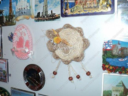 Надоело мне шить и решила сделать овечкумагнит,давно задумывала и вот сегодня срослось))) фото 1