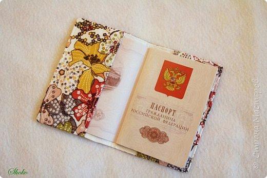 Текстильные обложки для паспорта фото 18