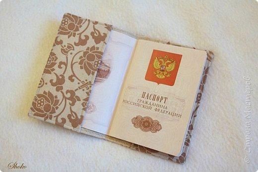 Текстильные обложки для паспорта фото 7