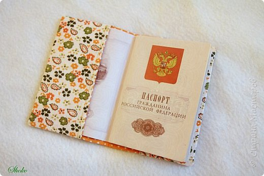 Текстильные обложки для паспорта фото 21