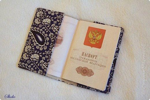 Текстильные обложки для паспорта фото 5