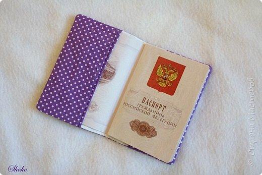 Текстильные обложки для паспорта фото 12