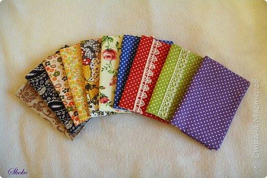 Текстильные обложки для паспорта фото 1