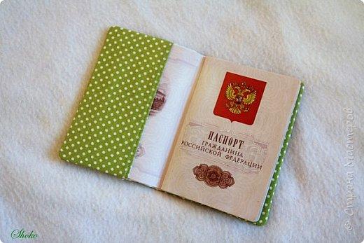 Текстильные обложки для паспорта фото 15