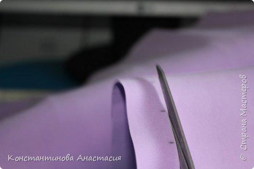 Бонсай топиарий Мастер-класс Розочка из фома МК+Топиарий Ленты Фоамиран фом фото 4