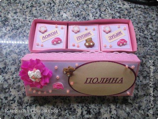 Моя первая коробочка- сокровищница :) фото 1