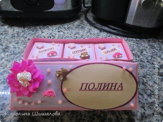 Моя первая коробочка- сокровищница :) фото 2