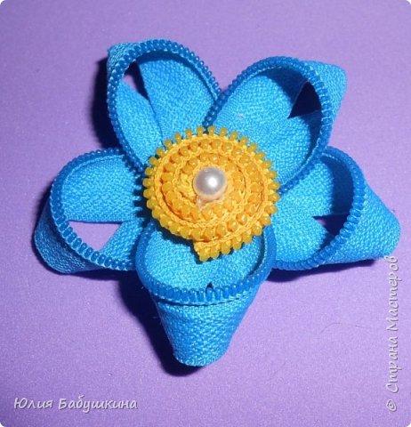 Цветы и стрекоза из молний фото 5