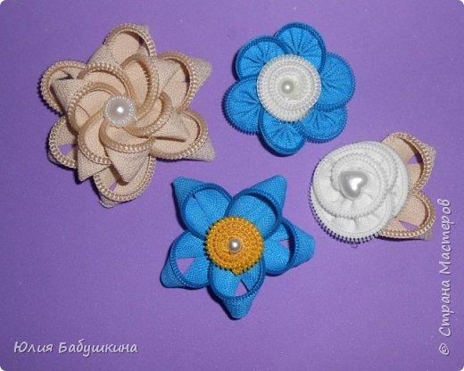 Цветы и стрекоза из молний фото 1