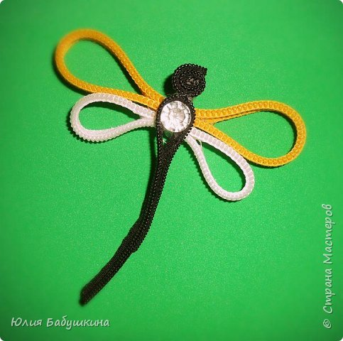 Цветы и стрекоза из молний фото 6
