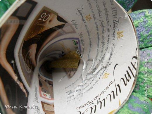 Мастер-класс Новый год Моделирование конструирование Новогодние ёлочки-домики фото 16