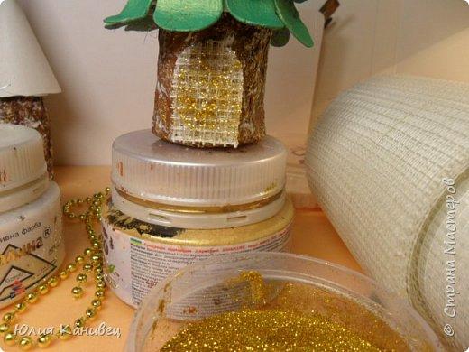 Мастер-класс Новый год Моделирование конструирование Новогодние ёлочки-домики фото 17